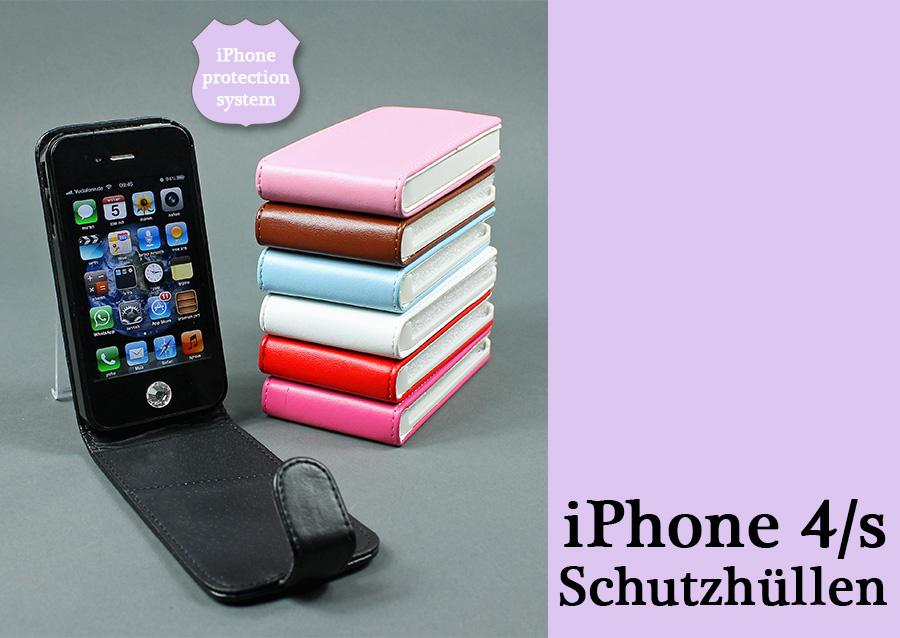 iPhone 4 mit Cover zum Angebotspreis